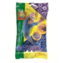 SES Creative - Perles à repasser 1000pcs Bleu