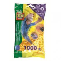 SES Creative - Bügelperlen - 1000 Stück - gelb