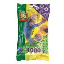SES Creative - Perlas para planchar 1000 pzs Menta