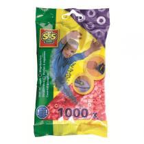 SES Creative - Perlas de planchado 1000 pzs Rosa