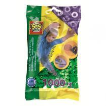 SES Creative - Perlas para planchar 1000 pzs Verde
