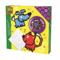 SES Creative - Bügelperlen - Set Lustige Tiere