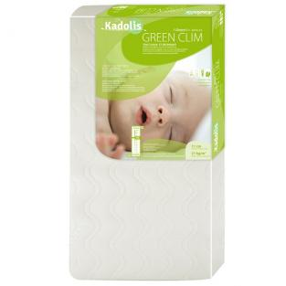 Kadolis - Bamboo Mattress Protector in white for baby bed size 60x120 cm