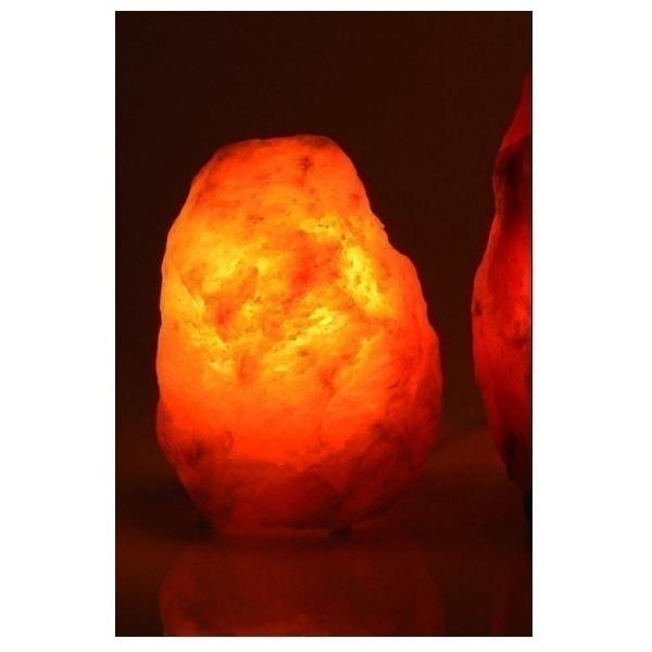 Bio Elements - Lampada di cristallo di sale naturale. 1 - 2 kg