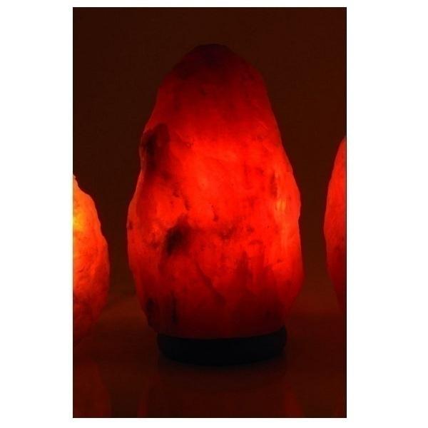 Bio Elements - Lampada di cristallo di sale naturale. 2 - 3 kg