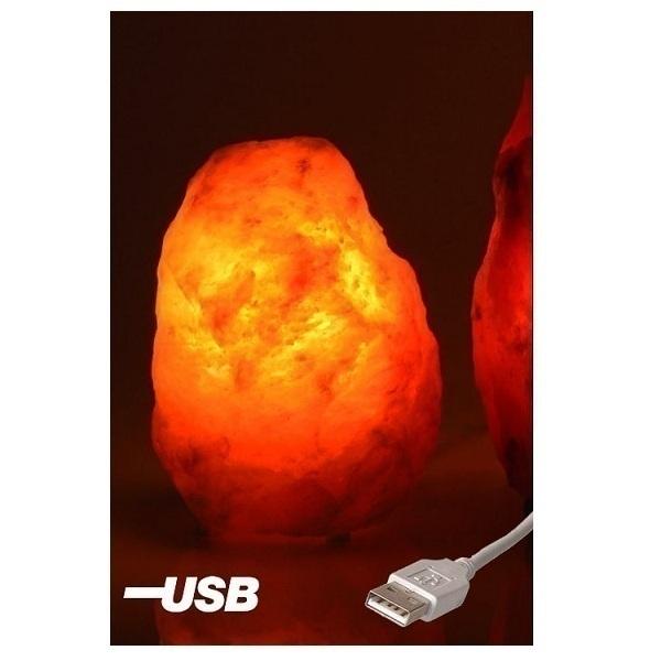 Lampe De Sel Usb Couleur Variable 0 5 A 1kg Bio Elements