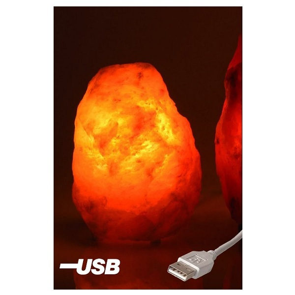 Lampe De Sel Usb Naturelle 0 5 A 1kg Bio Elements