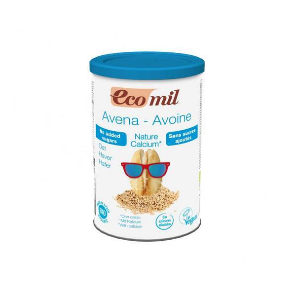EcoMil - Organic Calcium enriched oatmeal drink 400g