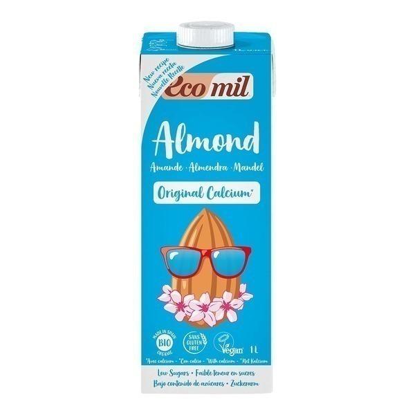 EcoMil - Leche Almendra Bio Calcio 1L