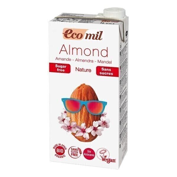EcoMil - Latte di Mandorla senza zuccheri 1L
