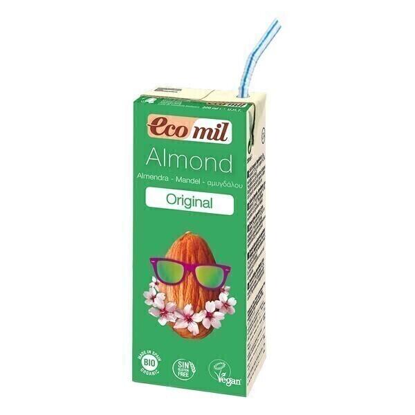 EcoMil - Leche Almendra Agave Bio 200mL
