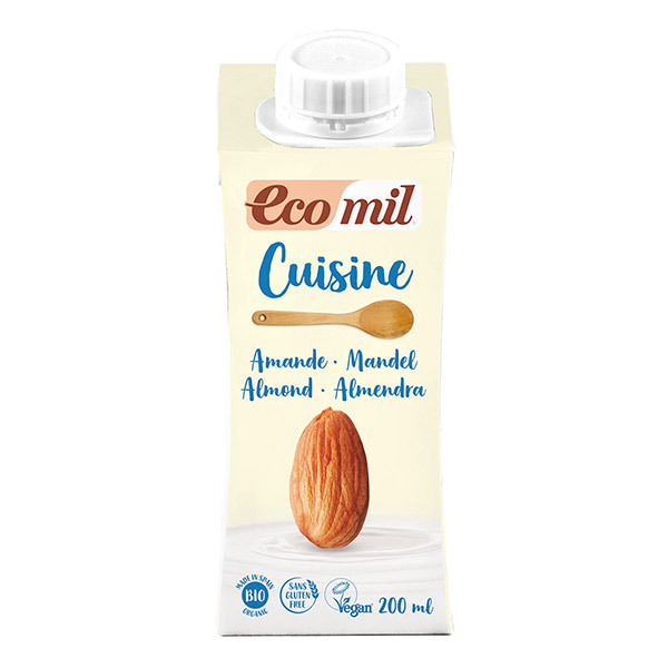 EcoMil - Cuisine Almond cooking cream
