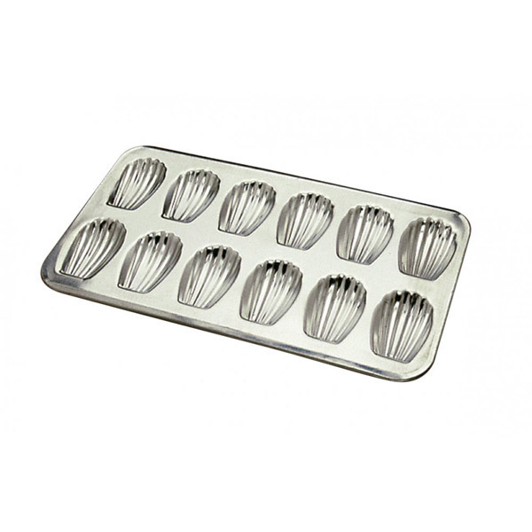 Gobel - Baking tray, 12 Madeleine moulds 80 mm
