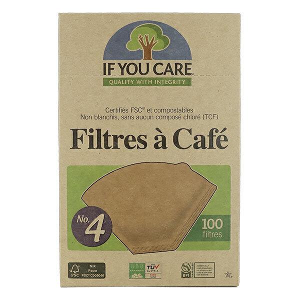 If You Care - Filtres à Café en papier non blanchi