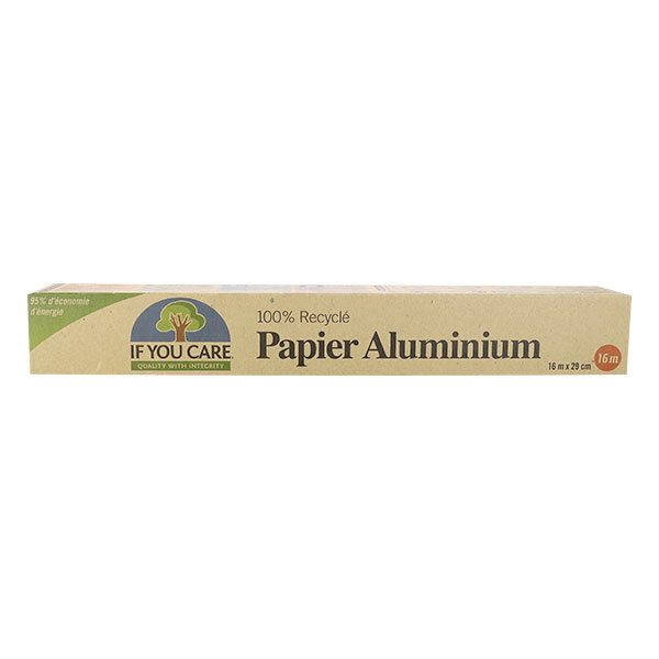 If You Care - Papier d'aluminium 100% recyclé