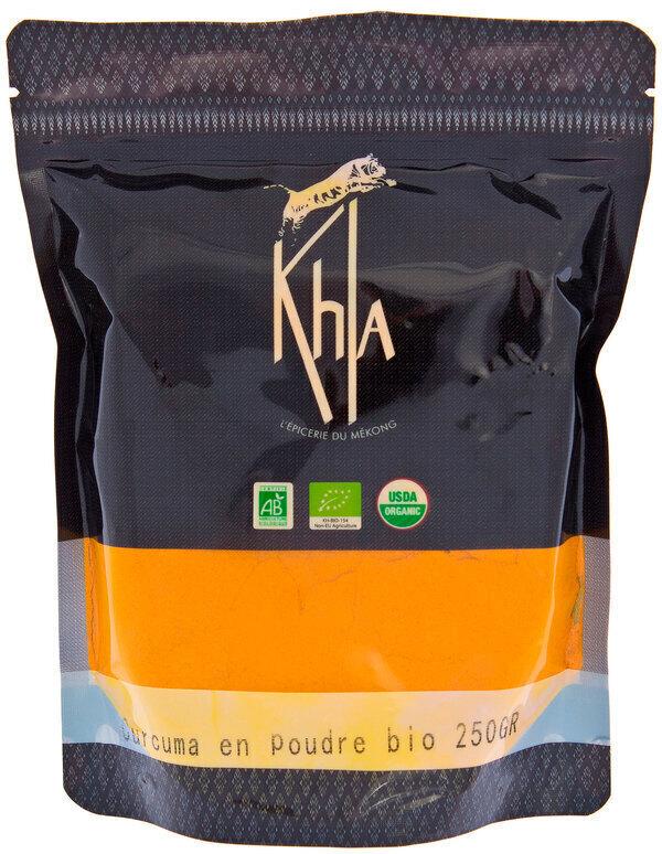 Khla - Curcuma en poudre - en vrac - 250 g