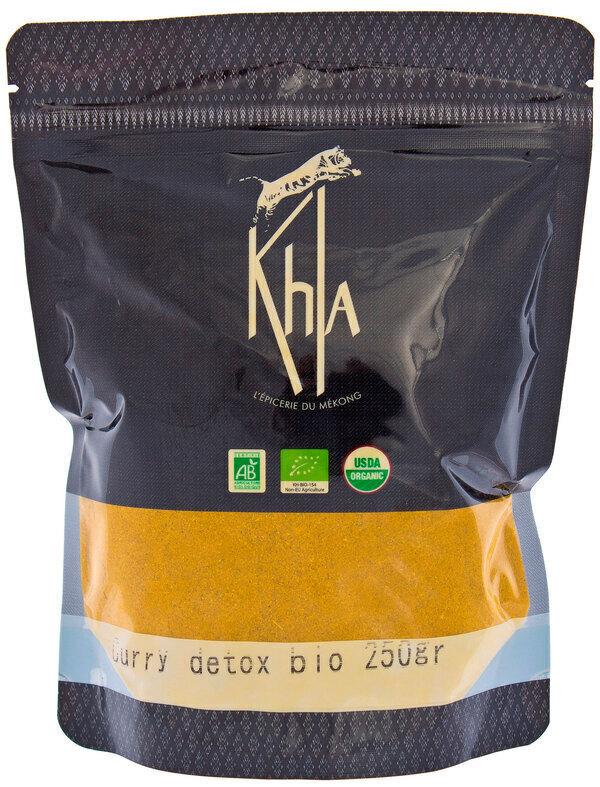Khla - Curry détox en poudre - en vrac - 250 g