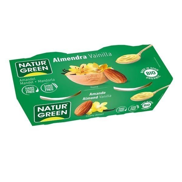NaturGreen - Dessert aux Amandes Vanille 2x125g Bio