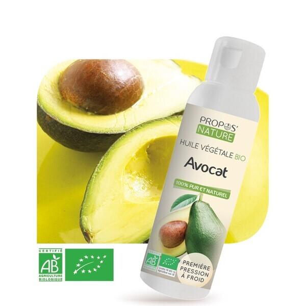 Propos'Nature - Avocat BIO (AB) - Huile végétale vierge Contenance - 100 ml