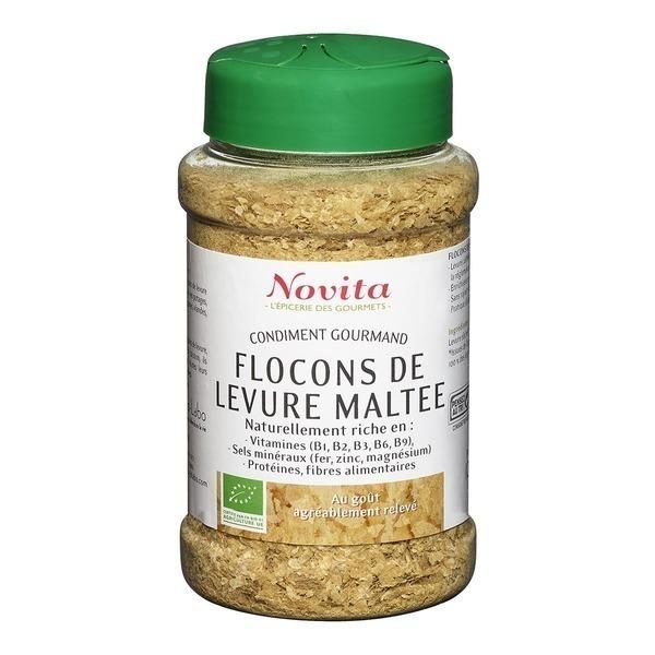 Novita - Flocons de Levure Maltée 150g Bio