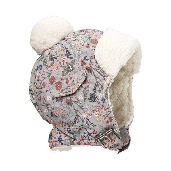 Elodie Détails - Bonnet bébé Chapka Vintage Flower