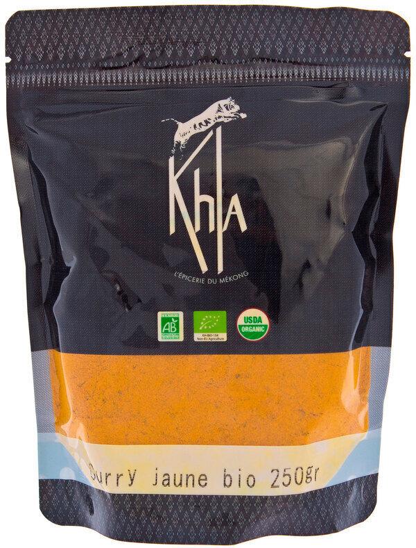 Khla - Curry jaune en poudre - en vrac - 250 g