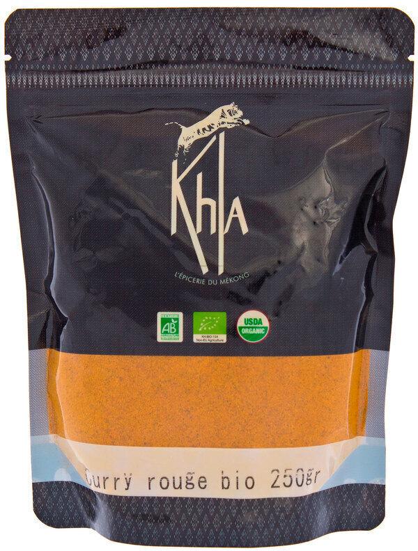Khla - Curry rouge en poudre - en vrac -250 g