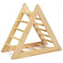 Costway - Échelle d'escalade triangulaire en bois pour enfants