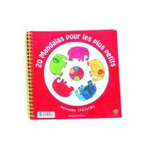 Achat nature - Cahier 20 Mandala pour tout-petits