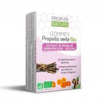 Propos'Nature - Gommes Epp & Propolis Verte Bio - 3 saveurs Saveur - Réglisse