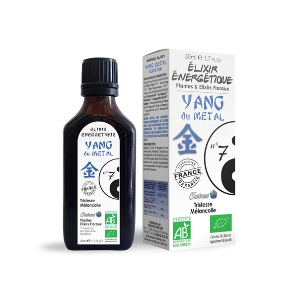 Propos'Nature - Elixir énergétique N 07 Yang du métal (P
