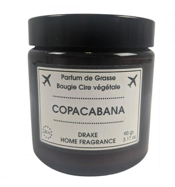 Drake Home Fragrances - Bougie parfumée naturelle, senteur Fruits Exotiques & Rose Boisé
