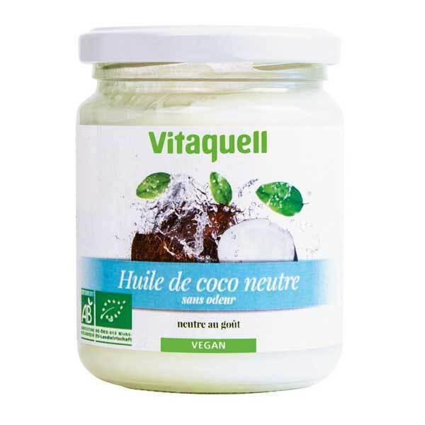 Vitaquell - Huile de Coco Neutre 200g Bio