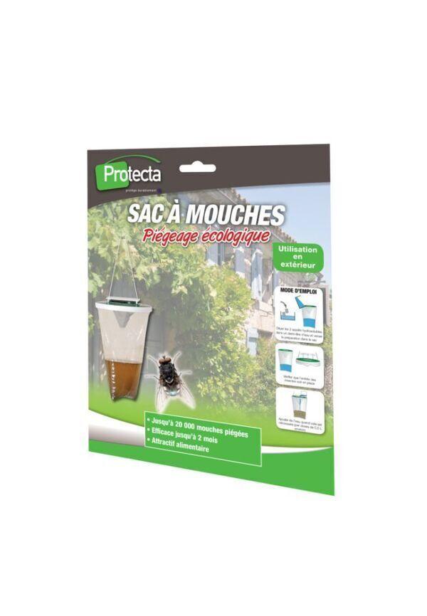 Achat nature - Recharge 3 sachets appâts boite à mouches