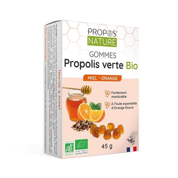 Propos'Nature - Gommes Miel & Propolis verte Bio - 3 saveurs Save