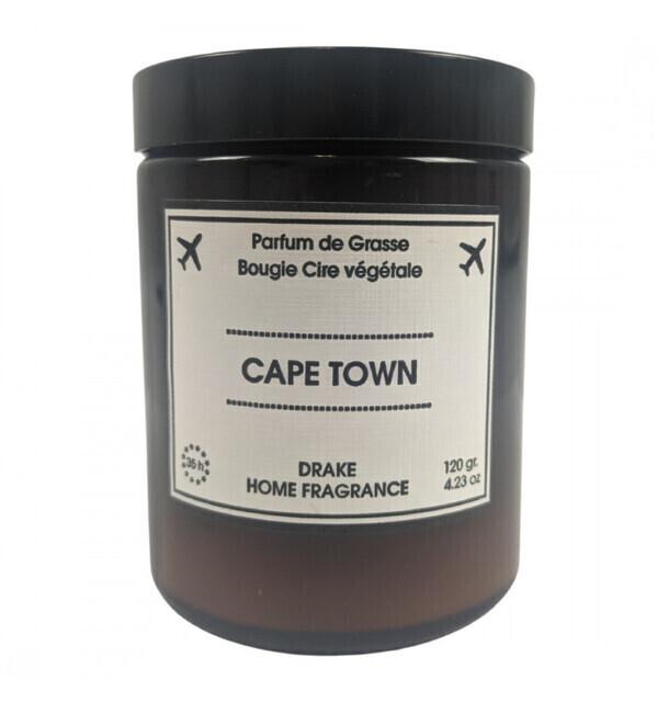 Drake Home Fragrances - Bougie parfumée naturelle, senteur Bergamote & Bois Exotiques 12