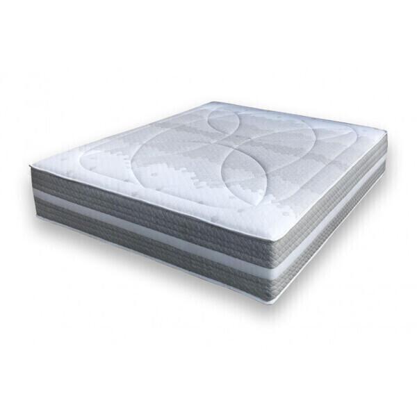 Essenzia - Matelas SPRING 1200 Soft COTON ORGANIQUE 200x200 Ressorts