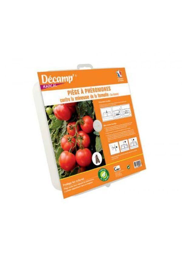 Décamp' - Piège à phéromones contre la mineuse de la tomate (piège à eau)