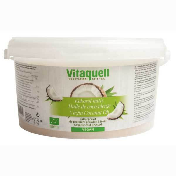 Vitaquell - Huile de Coco 2kg Bio