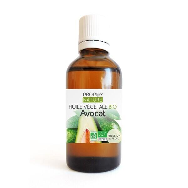 Propos'Nature - Avocat BIO (AB) - Huile végétale vierge Contenance - 50 ml