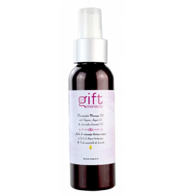 Gift Morocco - Huile de massage bio à l'huile d'Argan et lavande - 100 ml Gift