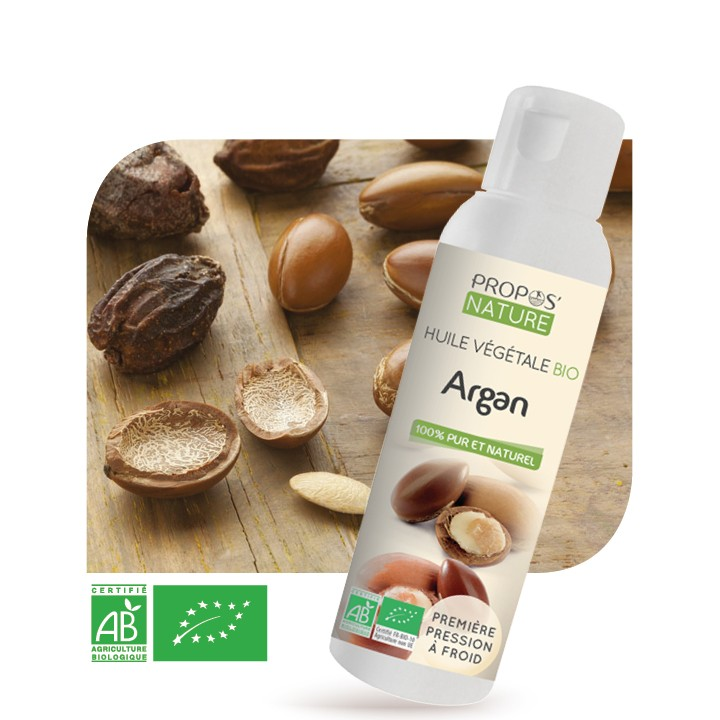 Propos'Nature - Argan BIO (AB) - Huile végétale vierge Contenance - 100 ml