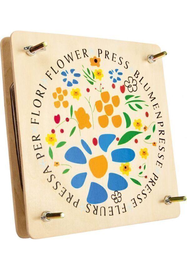 Achat nature - Presse-fleurs