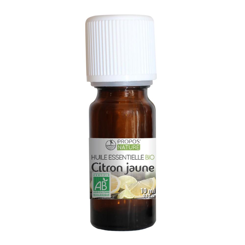 Propos'Nature - Citron BIO (AB) - Huile essentielle 10 ml