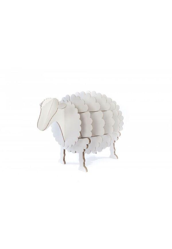 Achat nature - Cocorikraft : Le mouton blanc