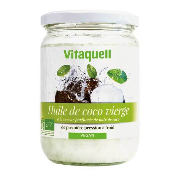 Vitaquell - Huile de Coco 400g Bio