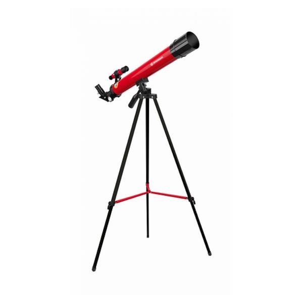 Bresser - Optics 45/600 AZ Réfracteur 100x Rouge