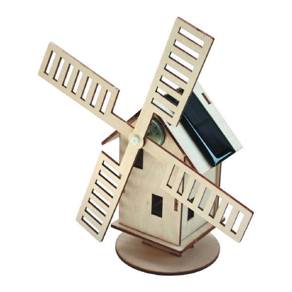 Sol-expert - Kit moulin solaire en bois