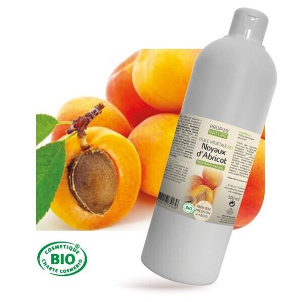 Propos'Nature - Abricot BIO - Huile végétale vierge Cont