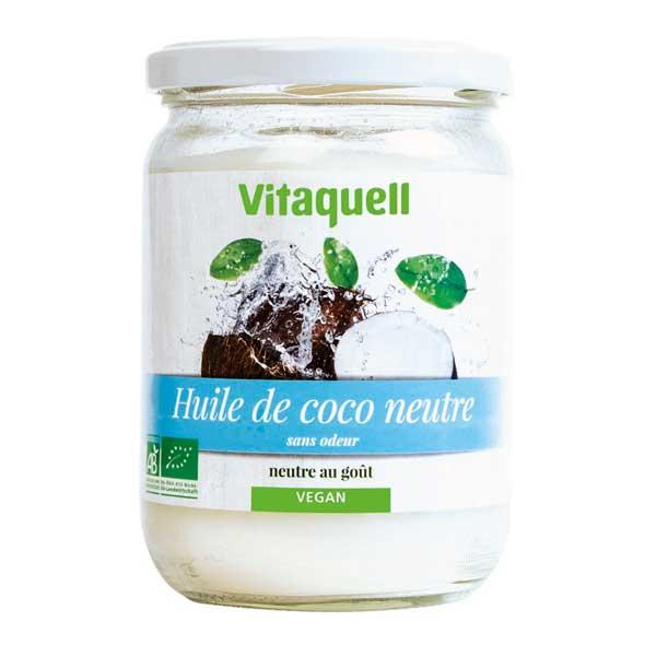 Vitaquell - Huile de Coco Neutre 400g Bio